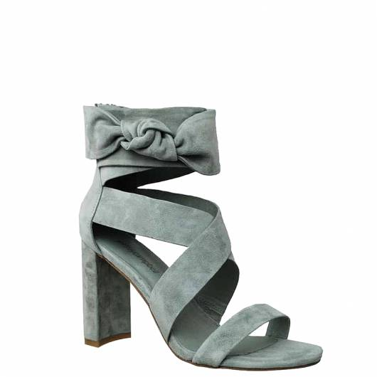 Jeffrey Campbell - 33190-252 LOW HEELED SANDALS (GREY) -