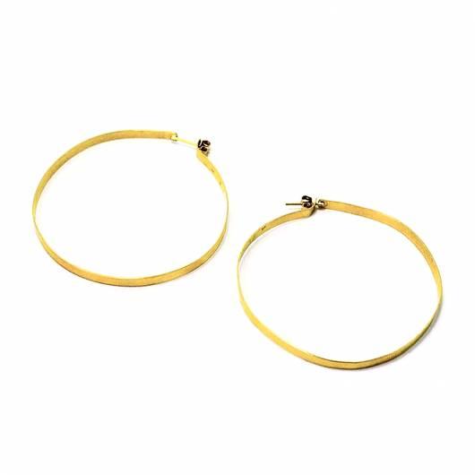 3rd Floor - Χειροποίητα σκουλαρίκια Longone 108-31-12B - Χρυσό ... 3ab927815cc