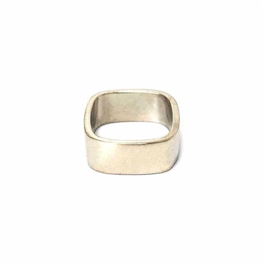 3rd Floor - Χειροποίητο δαχτυλίδι Frame - 108-41-12A Ορείχαλκος  Επαργυρωμένο ... f631f431234