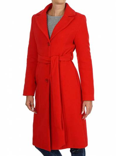 moutaki - Classic lapels coat 18.06.120 Red -