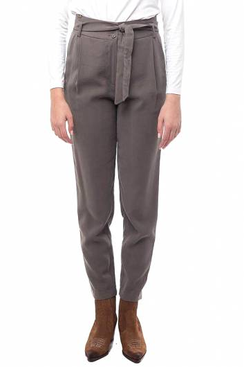 MOUTAKI -  PANTS 19.03.101  KHAKI -