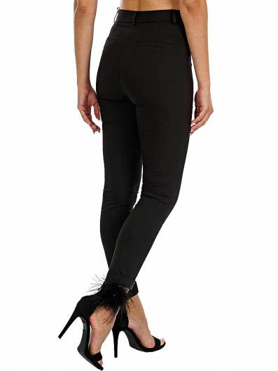 MOUTAKI - PANTS 19.03.112 BLACK -