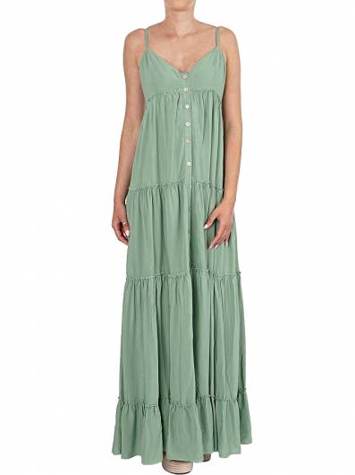 MOUTAKI - DRESS 19.07.01 GREEN -