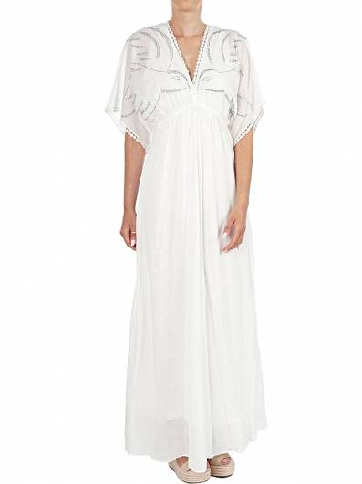 MOUTAKI - DRESS 19.07.56 WHITE -