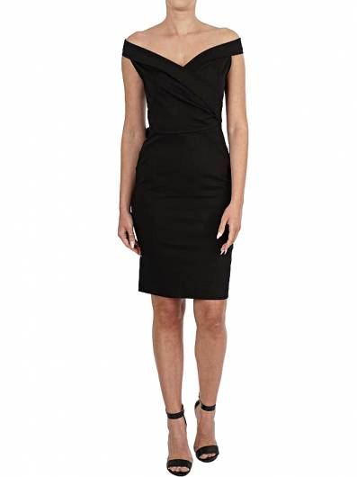 MOUTAKI - DRESS 191.601 BLACK -