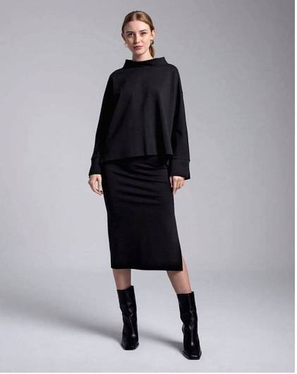 MOUTAKI - Skirt 20.02.109 Black -