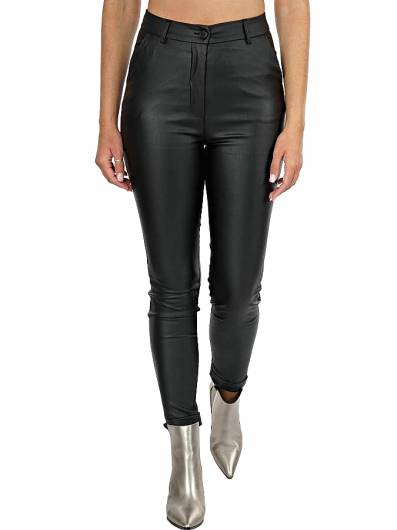 MOUTAKI - Trouser High Waist 20.03.117 Black -