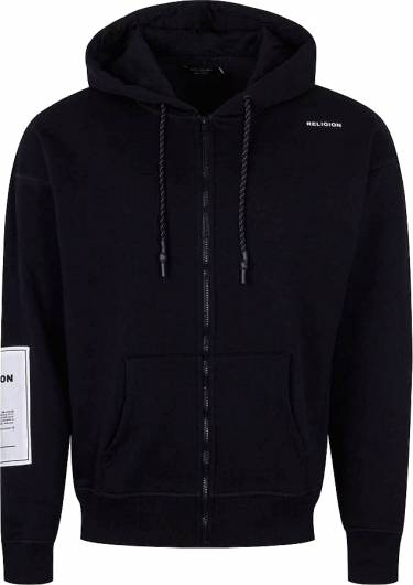 RELIGION - PLAIN HOODY 39EPLJ80 BLACK