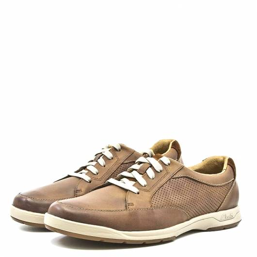 CLARKS - STAFFORD PARK5 20368593 TAN LEATHER