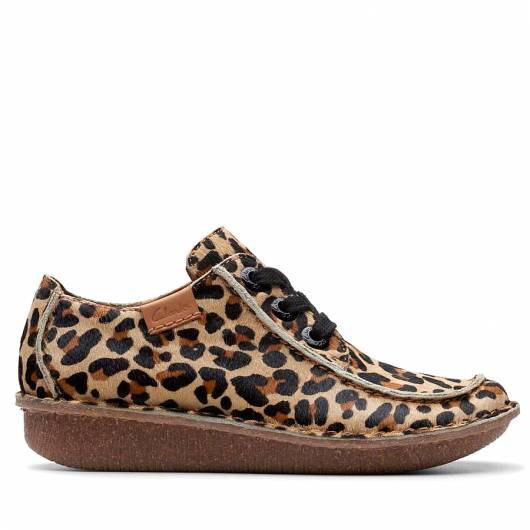 CLARKS - FUNNY DREAM 26146118 LEOPART PRT PONY