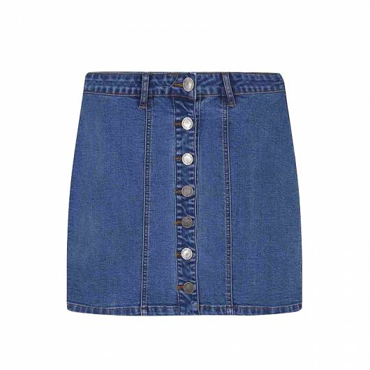 COMPANIA FANTASTICA - DENIM SKIRT SP19HAN77 -