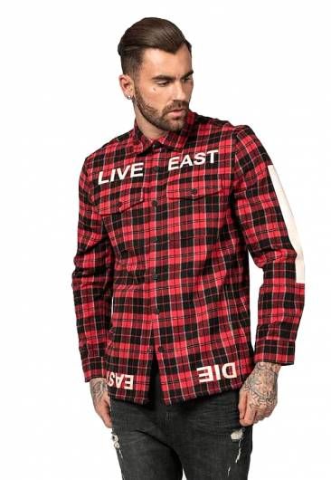 Religion - LIVE EAST SHIRT 38ILIH12 RED -