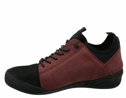 Safe Step - 72154 Black Bleda Claret red -