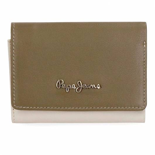 PEPE JEANS - WALLET 7642561 GREEN -