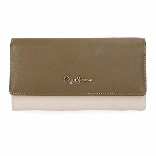 PEPE JEANS - WALLET 7643561 GREEN -