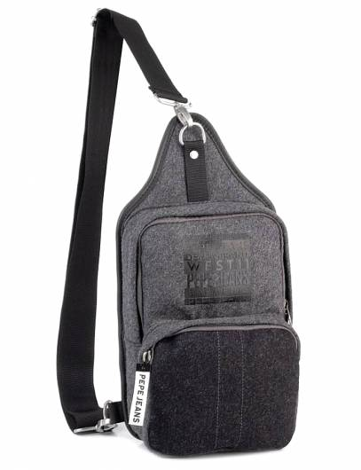 PEPE JEANS - CROSS BAG PM030557 (913)  LIGHTGREY MARL