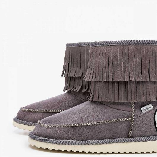 PEPE JEANS - ANGEL FRINGES PGS50134 (945) GREY -