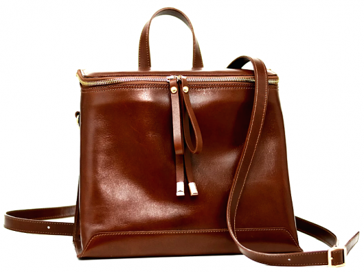 GRAND FRERE - BACKPACK 501 COGNAC -