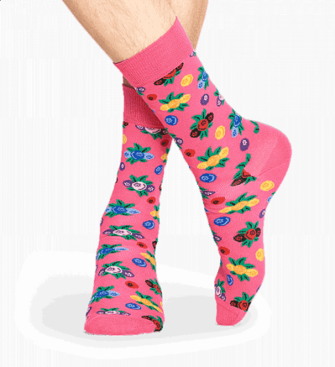 HAPPY SOCKS - BERRY SOCK BER01-3000 -