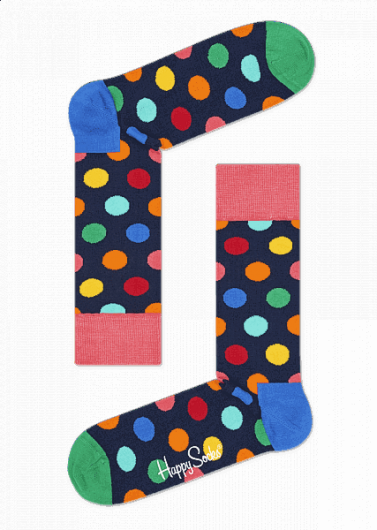 Happy Socks - BIG DOT SOCK BDO01-6001 -