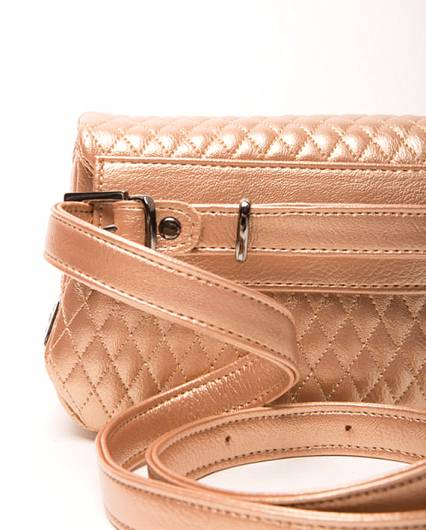 Elena Athanasiou -  City Lady Belt Bag Metallic Pink -