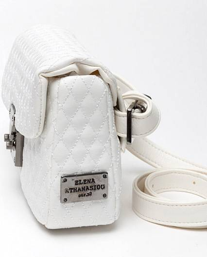 Elena Athanasiou - City Lady Belt Bag White -