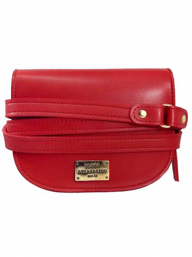 Elena Athanasiou -	Belt Bags Double Belt Red -