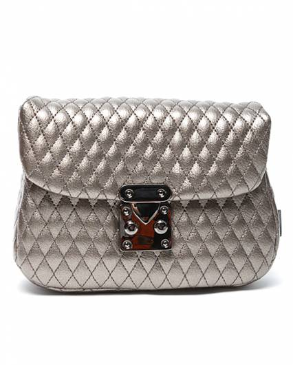 Elena Athanasiou - City Lady Belt Bag Metallic Silver -