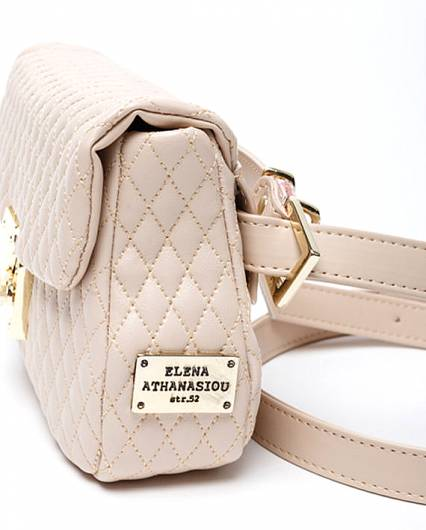 Elena Athanasiou -	City Lady Belt Bag Nude -