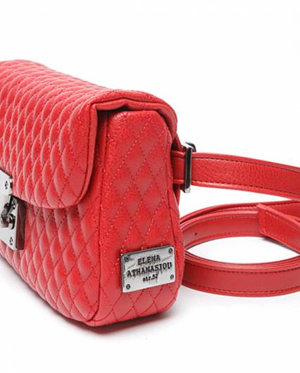 Elena Athanasiou -	City Lady Belt Bag Red -