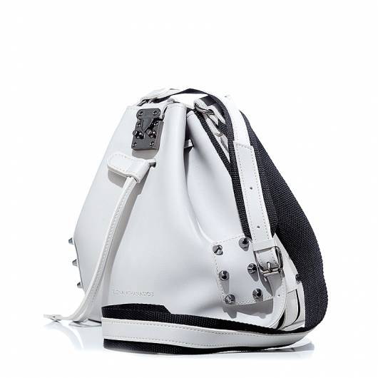 Elena Athanasiou - City lady pouch bag light grey -