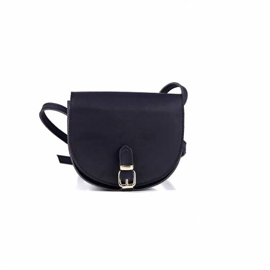 Elena Athanasiou - Recycled Leather Crossbody Black -