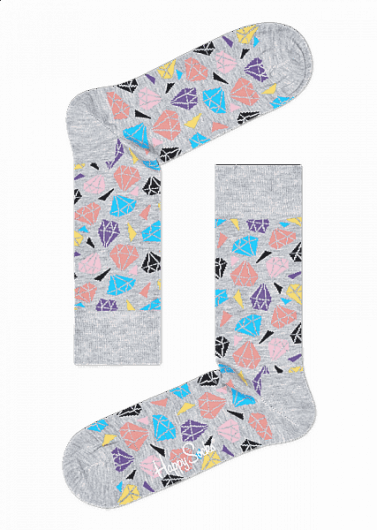 Happy Socks - Diamond Sock DIA01-9001 -