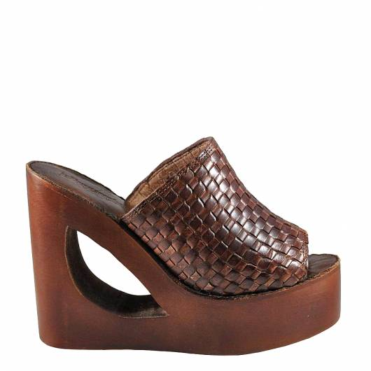 Jeffrey Campbell - 38jc127 HIGH HEELED PLATFORMS(brown) -