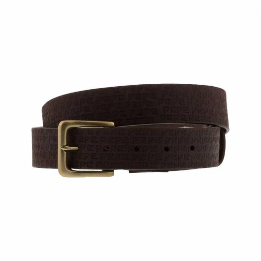 Pepe jeans - De Man Belt PL020864 (878) Brown -