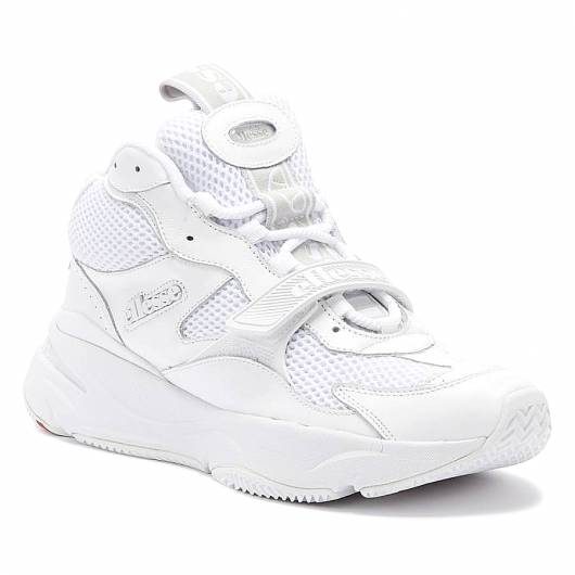 ELLESSE - AURANO MID 610399 WHITE LEATHER
