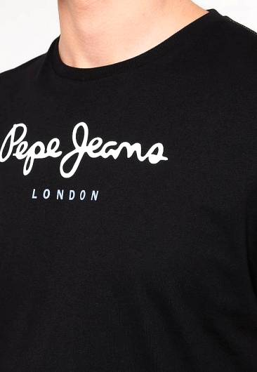 PEPE JEANS - EGGO BASIC T-SHIRT PM500465 (999) BLACK