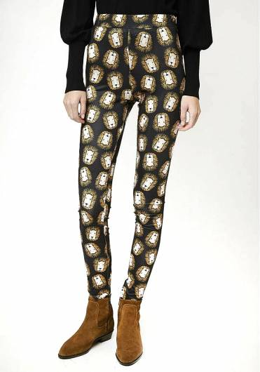 COMPANIA FANTASTICA - LION LEGGINGS FA19HAN111 -