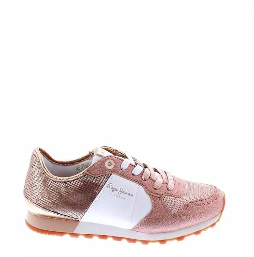 PEPE JEANS - VERONA W SEQUINS PLS30625 (327) FACTORY PINK -