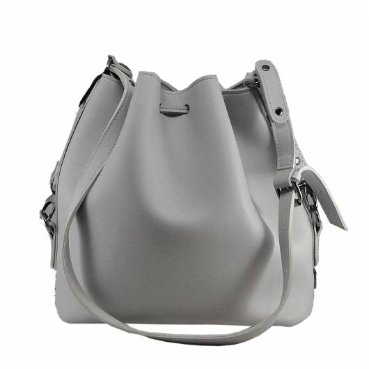 Elena Athanasiou -  Goldie Fresh Pouch Bag Grey -