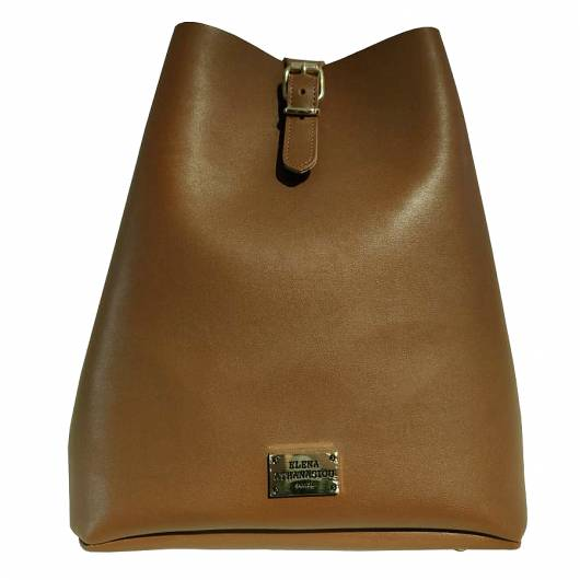 Elena Athanasiou - Recycled Backpack Brown-