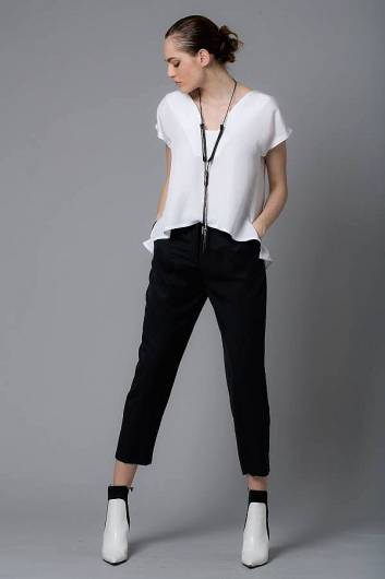 LOTUS EATERS - Martha TI Pants Black -