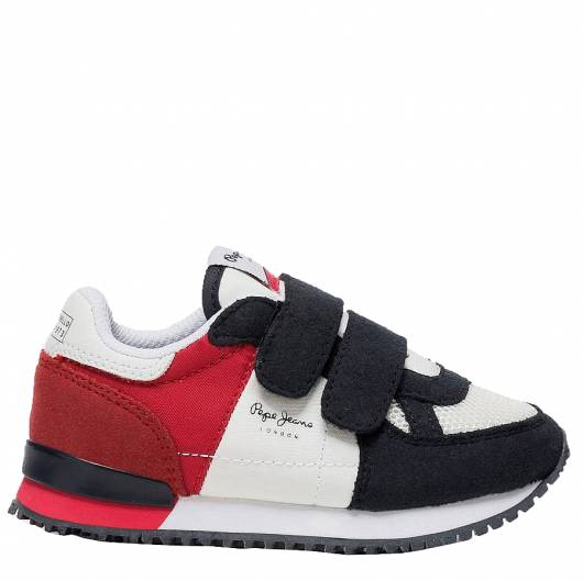PEPE JEANS - SYDNEY BASIC SS19 KIDS PBS30399 (255) RED -