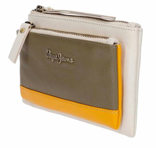 PEPE JEANS - MINA WALLET 7644261 GREEN -