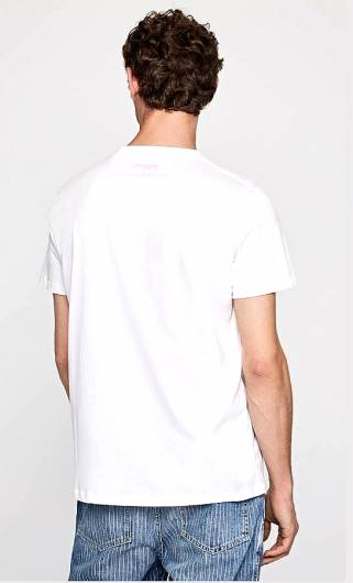 PEPE JEANS - T-SHIRT 45TH 08M PM506453 (803) OFF WHITE -