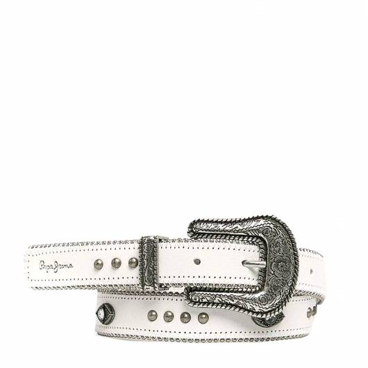 PEPE JEANS - CALI BELT PL020774 (803) OFF WHITE -