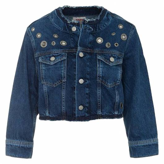 PEPE JEANS - REVIVE JACKET PL401665 (000) DENIM -