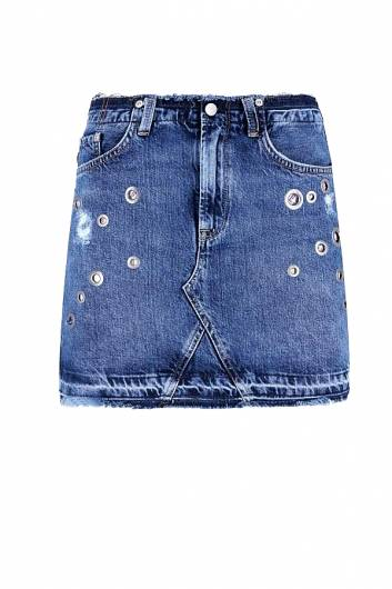 PEPE JEANS - REVIVE SKIRT PL900810 (000) DENIM -