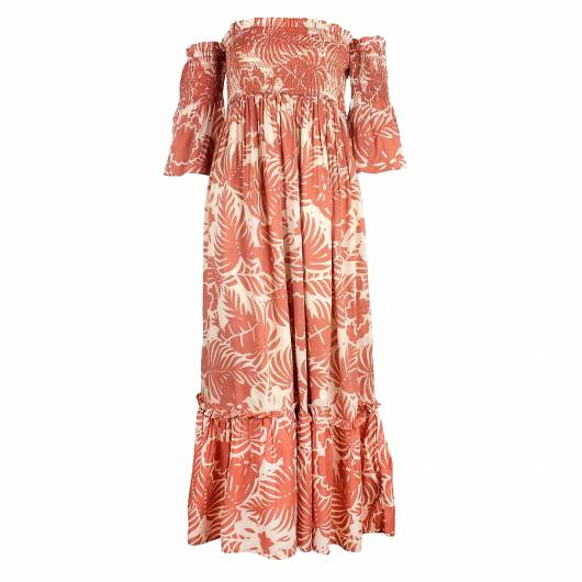 PEPE JEANS - WOMEN'S MULTICOLOR MAXI DRESS MIKA PL952491 (0AA) MULTI -