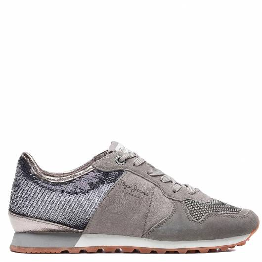 PEPE JEANS - VERONA W NEW SEQUINS PLS30717 (925) MIDDLE GREY